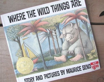 Where The Wild Things Are Maurice Sendak Softcover 1991