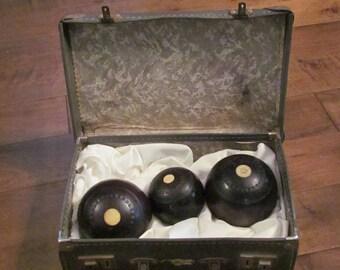 Set de boule de pétanque Vintage