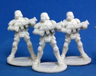 Nova Corp Soldiers (3) - 80012 - Reaper Miniatures