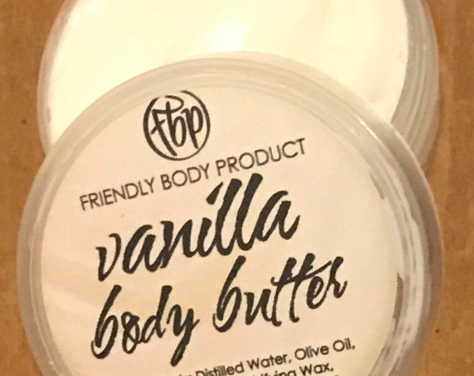 Body Butter - Vanilla - Lotion