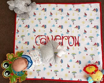 Personalised Baby Quilt