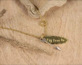 Arrow Fly Free Necklace SALE!