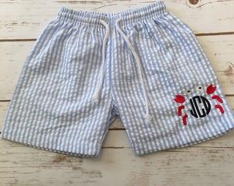Boys swimsuit, boys monogrammed swimsuit, baby boy, boy summmer