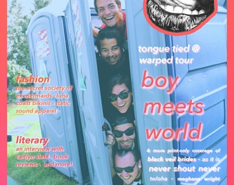 Tongue Tied Magazine Issue 001