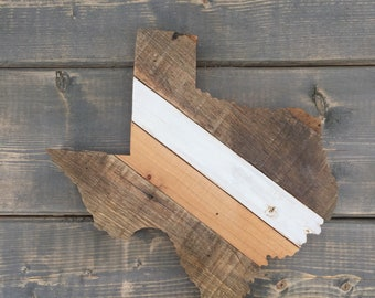 Texas State Art, Texas Wood Sign, Wood Sign, State Sign, Wood State Sign, Recycled Wood Sign, State Art, State Outline, Texas Outline