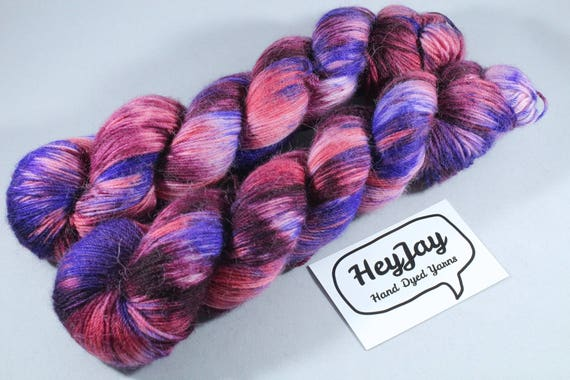 Hand Dyed Alpaca/Merino/Nylon Sock Yarn - Diablo