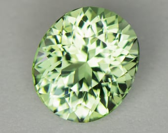 3.60ct Precision Custom Cut Mint Tourmaline