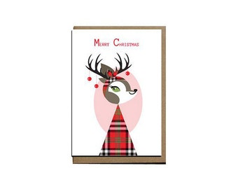 Merry Christmas Scottish gift card