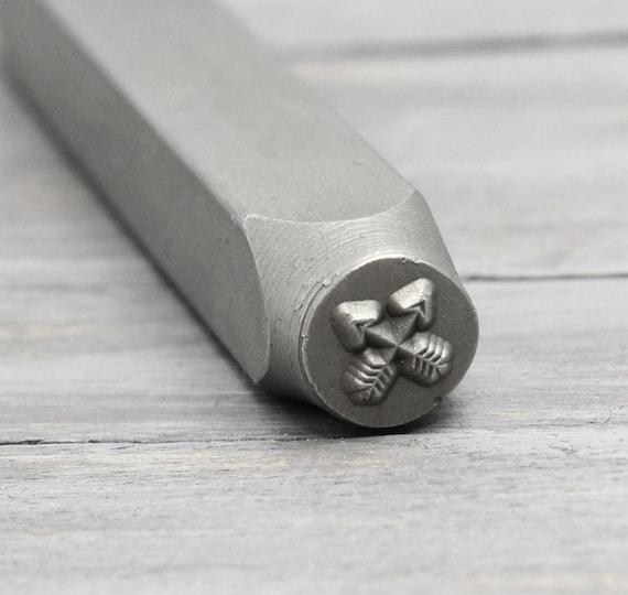 Crossed Arrow Stamps Arrows Metal Stamp Metal Design Stamp