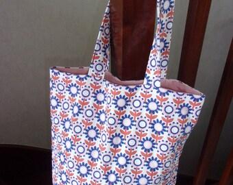 beach handmade tote bag
