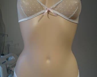 Romantic white lace set