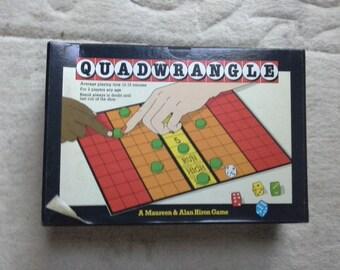 Quadwrangle board game