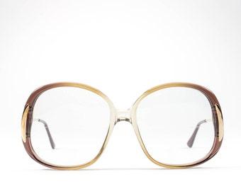 Vintage 70s Glasses | Round Eyeglasses | 1970s Glasses Frames | Seventies Deadstock Eyewear - Maria5