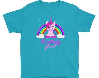 Unicorn Birthday Girl Shirt