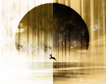 Original Canvas Print: 'Journey' | *FREE SHIPPING*