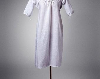 18th Century Chemise Short Sleeved Xs-Xxl