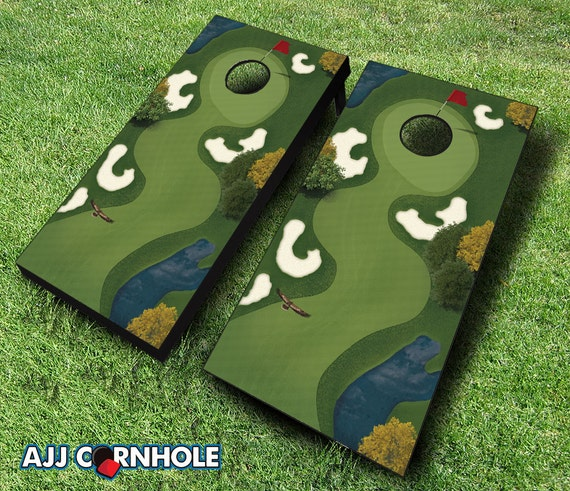 Hole in One Cornhole Set With Bags