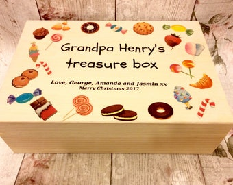 Grandpa/Dad Xmas/Father's Day sweetie box