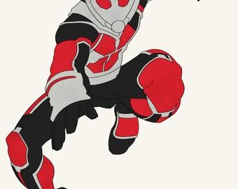 MCU Marvel Captain America: Civil War CACW Scott Lang Ant-Man Giant-Man Ant Man Giant Man