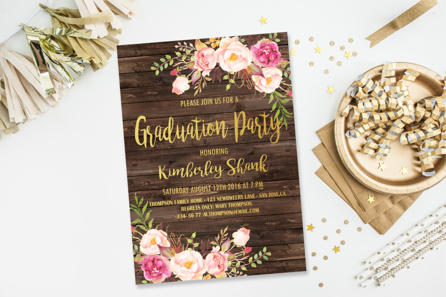 greetings island graduation party invitations - Picture Ideas References