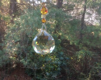 Crystal Glass Beaded Suncatcher