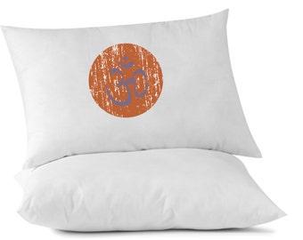 Om Pillowcase, Custom Printed Pillowcase, Yoga, Meditation, Om