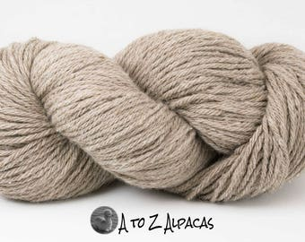 SUPER-SIZED SKEIN! Royal Baby Alpaca Yarn Bulky Weight Natural Cream 200 grams Super sized