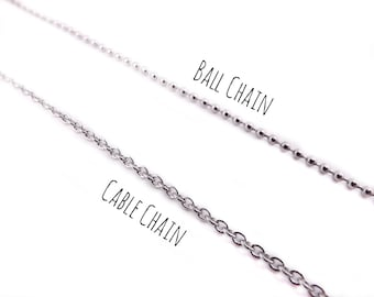 Stainless Steel Cable Chain - 1346