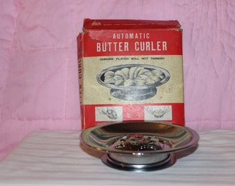Vintage Automatic Butter Curler by Chadwick-Miller