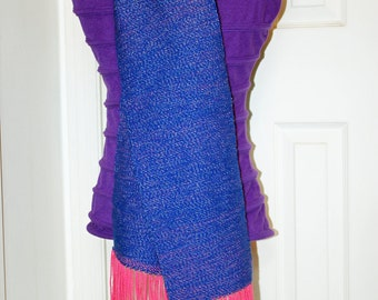 Infinite Universe of Stars Scarf - Handwoven  Scarf