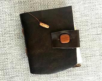 Rustic Leather Journal, Traveler Notebook, Journal Diary, Writing Journal, Art Journal