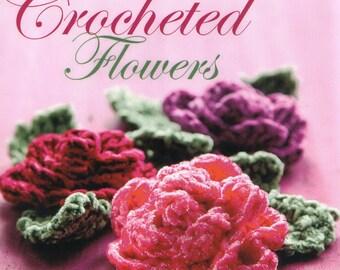 PDF crochet pattern, English eBook, Crochet flower pattern, Crochet motif