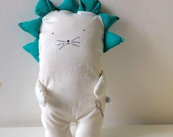 Sam the Lion - Fabric Doll - Handmade Doll - Doll for Home - Home Decor - Handmade Gift - Textile Doll - Home Decoration - Doll Decor