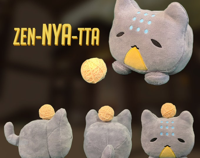 Featured listing image: PRE-ORDER Zen-NYA-tta Katsuwatch - Katsuhead Plush