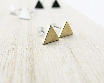 Mini golden triangle BOFA03046 earring