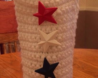 Star spangled Wine bottle bag