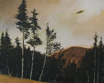UFO over Cave Junction, OR, USA 1927