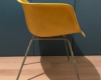 Yellow Herman Miller Eames Shell Chair