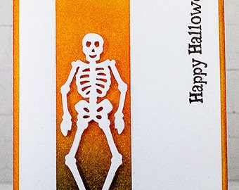 Handmade Happy Halloween Greeting Card