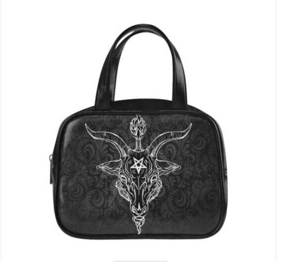 Baphomet Black Phillip handbag