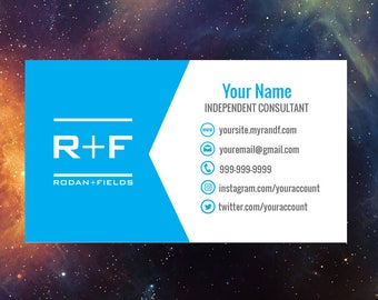 Rodan and Fields One-sided Business Card