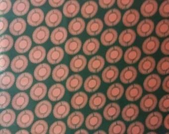 Cotton wax printed circle