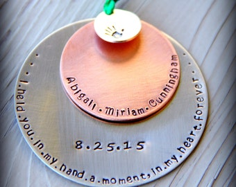 Miscarriage Keepsake - Miscarriage Ornament - Stillbirth Gift  - Baby Loss Ornament - Stillbirth keepsake - Loss - Remembrance Gift -