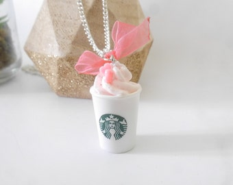 Strawberry necklace starbuck flavor