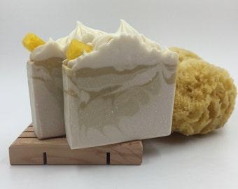 Piña Colada Handmade Soap