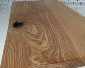 Solid English Olive Ash chopping board, serving board platter, cheese board, bread board. Beautiful natural grain. Handmade.