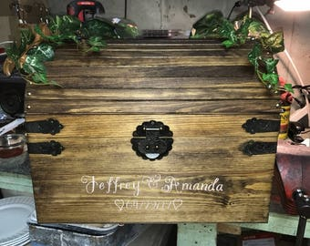 Wedding Card Box~personalized
