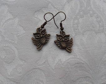 """Earrings """"Owls"""""""