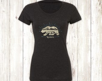 Ladies Bear Wander Tee