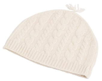 Cable Knit Cashmere Children's Hat
